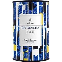 Moya biologische Japanse Genmaicha groene bladthee   60 g sencha met rijst   De beste kwaliteit thee uit Japan…