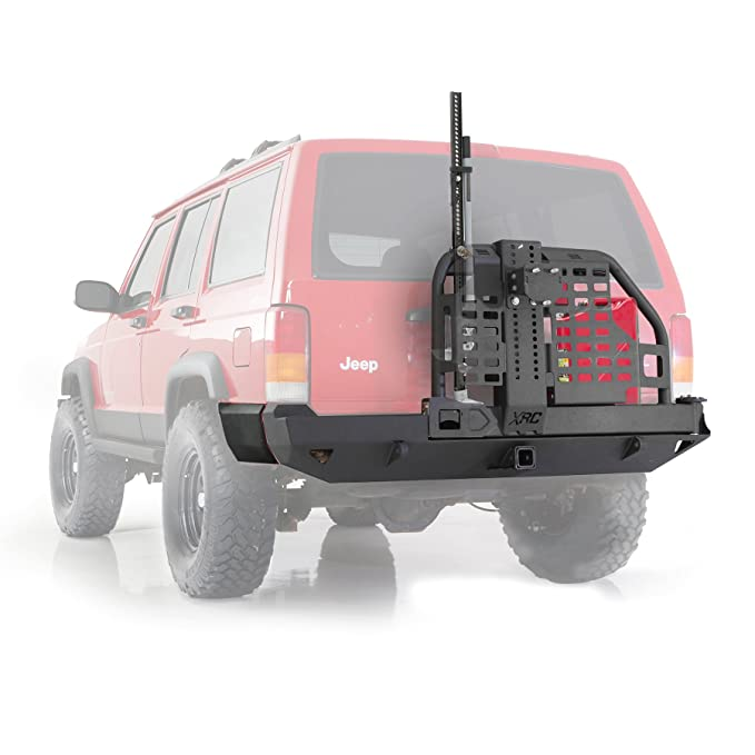 Jeep Cherokee XJ Rear Bumper Smittybilt XRC Swing Away Tire Carrier Hi - Lift 4x4 Off Road Greggson: Amazon.es: Coche y moto