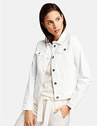 Taifun damska kurtka dżinsowa, dopasowana do kształtu ciała: Odzież