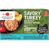 Applegate, Natural Savory Turkey Breakfast Sausage Patties, 7oz (Frozen)