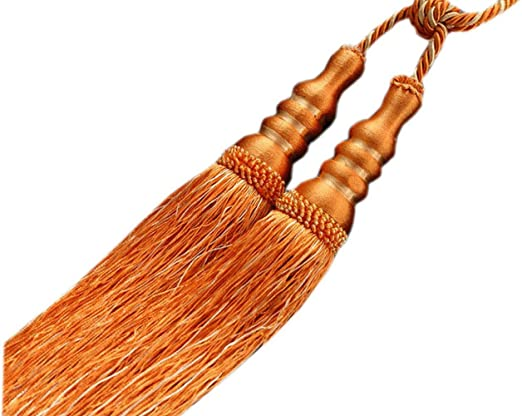 """REDUCED PRICING on a SET of TWO 9/"""" Turk Knot Key Tassels ~ CHOICE of COLORS"""