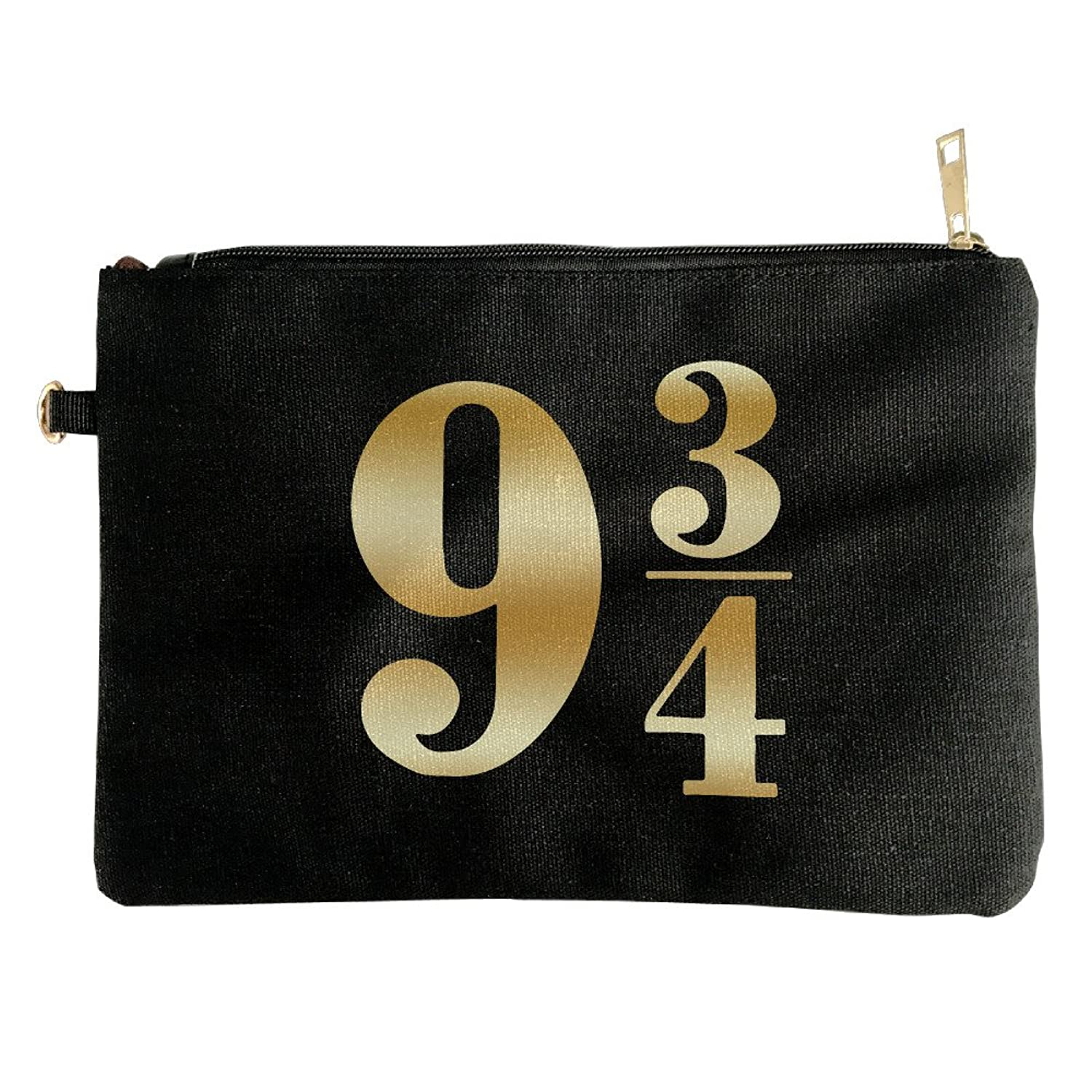 Harry Potter Platform 9 3 4 Gold Logo Womens Clutch Purse