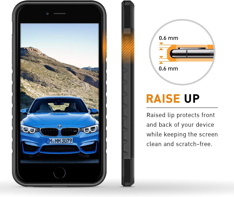 BMW VERO CARBONIO Custodia Rigida Iphone 8 Plus 7 Plus Back Cover