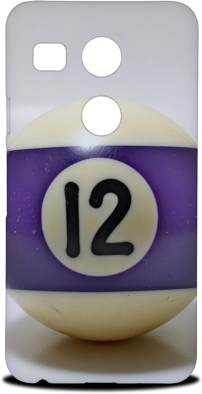 Foxercases diseño bolas de billar mesa de billar 6 Hard Back Case ...
