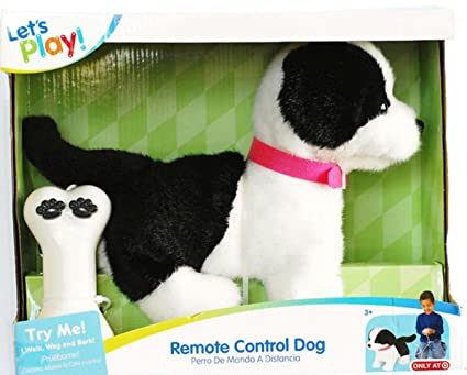 Lets Play Remote Control Dog