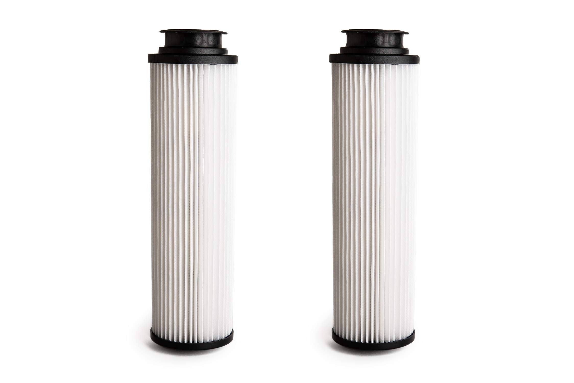Green Label 2 Pack Replacement HEPA Filter Type 201 for Hoover Windtunnel, Savvy and Empower Vacuum Cleaners (Compares to 43611042, 42611049, 40140201). Washable and Reusable
