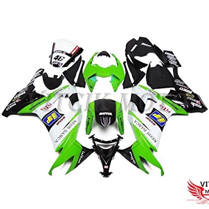 Amazon.com: VITCIK (Fairing Kits Fit for Kawasaki ZX-10R ...