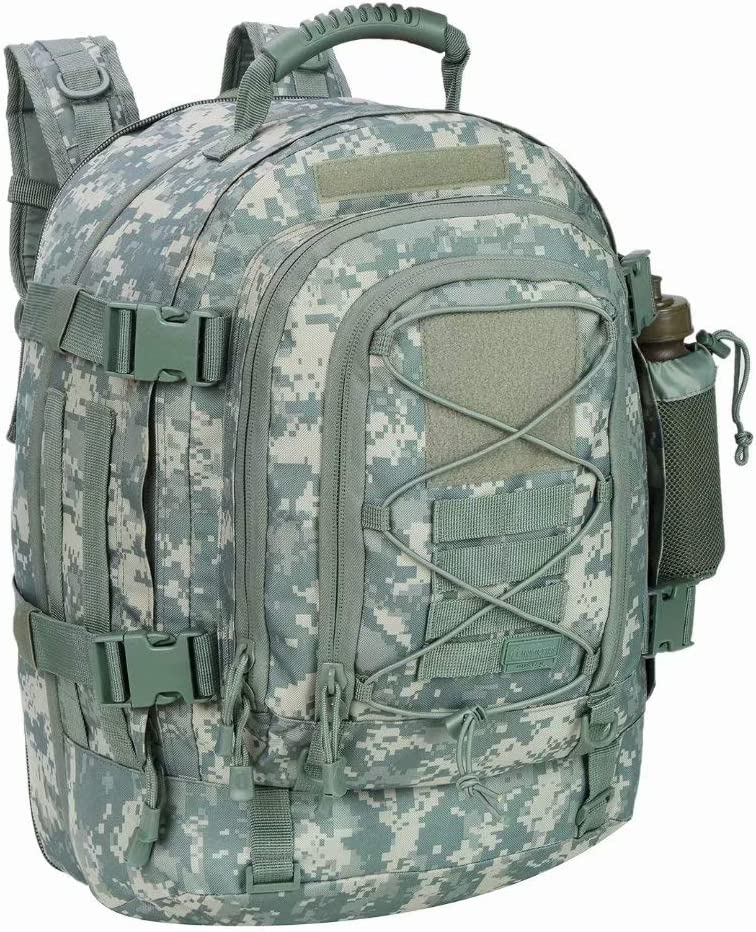 Tactical hunting camping travel backpack lightweight lots of pockets