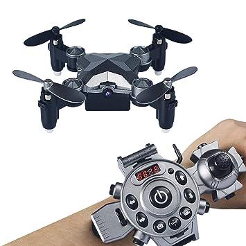 Glxlsbz Mini Drone, Modelo Mando a Distancia 3D voltea y Rollos 4 ...
