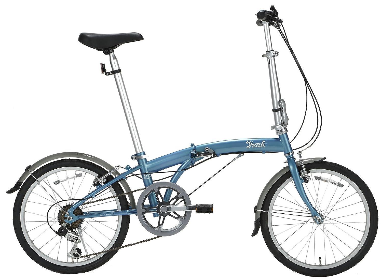 yeah(ヤー) プロスパー 20インチ 6段変速 DAHONライセンス 折りたたみ自転車 R147 アイスブルー B072MKDBB3