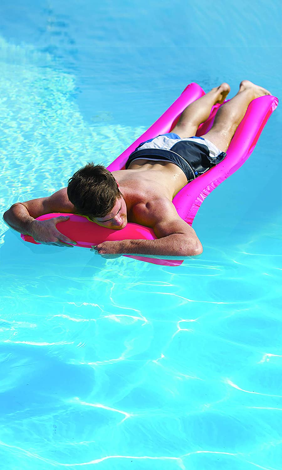 Pez Inflatable Pool Candy Shaped Float For Kids And Adults Jumbo Swimming Pool Lounger Fun Giant Floaties Relax In Sun Summer Gift Sports Outdoors