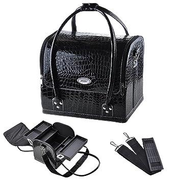 Amazon.com: Bolsa para cosméticos AW cocodrilo, bolso ...