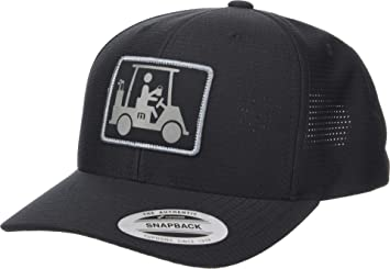 Amazon.com  TravisMathew Men s Coming in Hot Hat Black One Size ... 3bcbc95be807