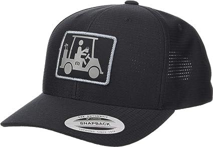 Amazon.com  TravisMathew Men s Coming in Hot Hat Black One Size ... f95c1e2dd910