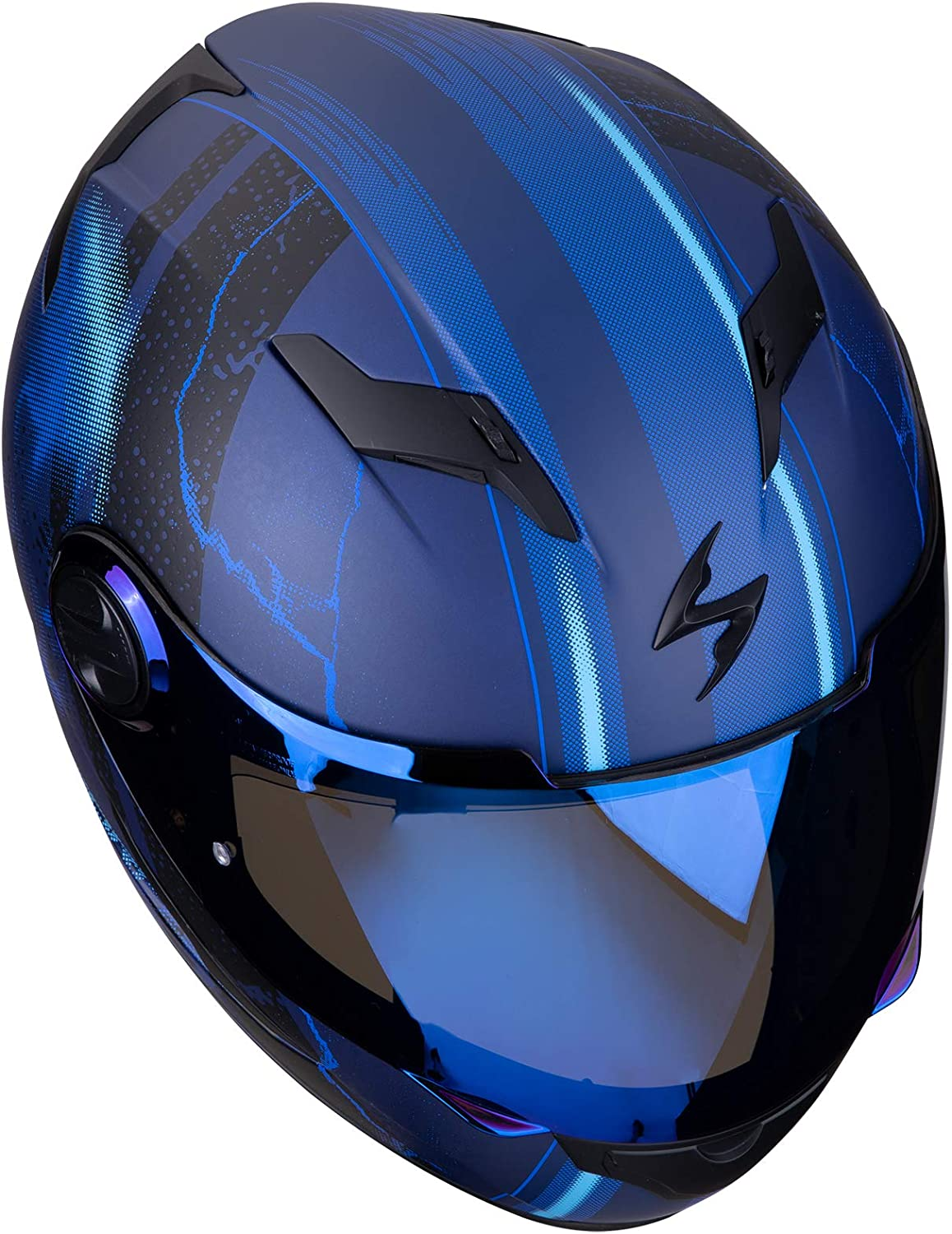 SCORPION Casque moto EXO-490 DAR Matt Blue Bleu M