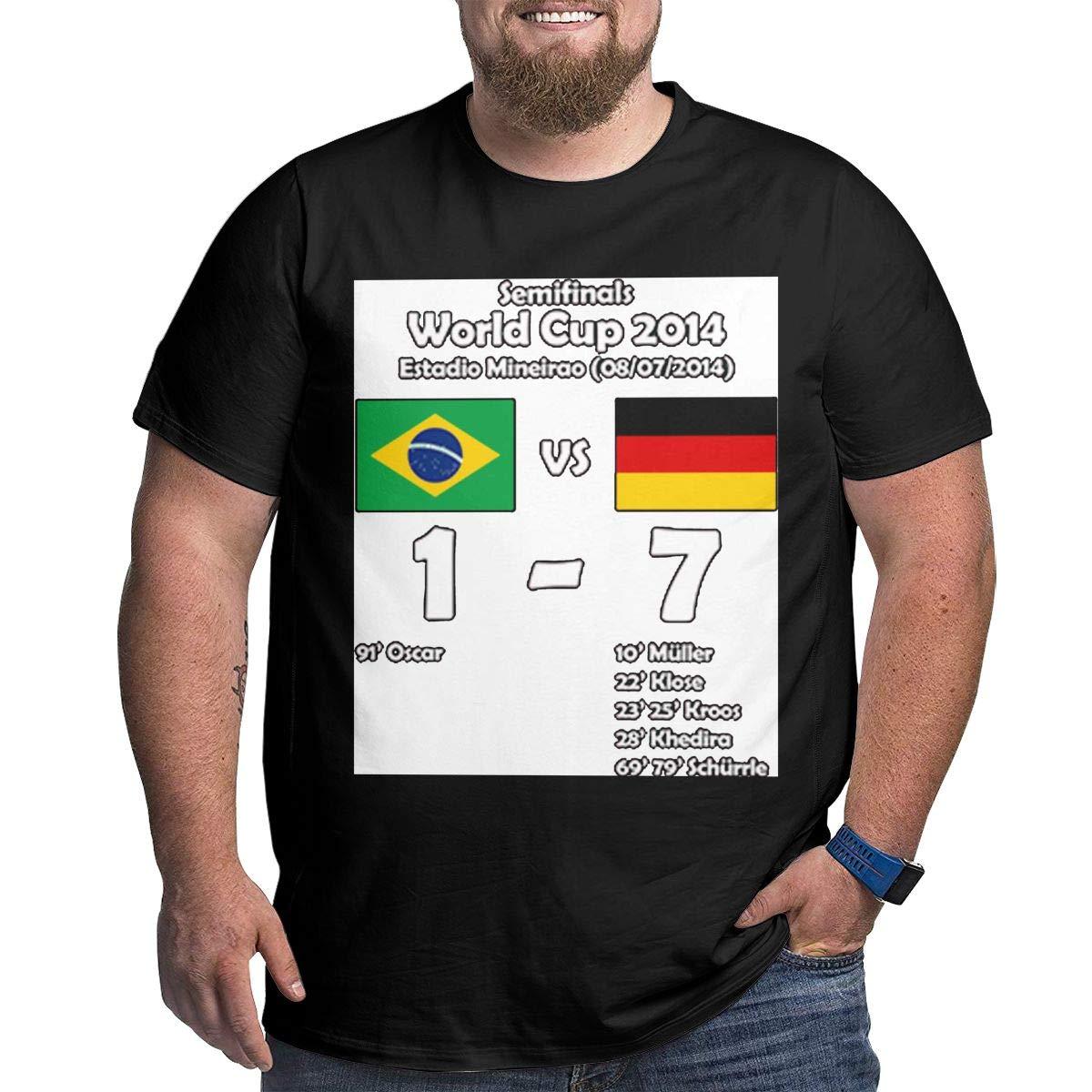 Zzlll Brazil 1 Germany 7 2014big Size Men Shirts