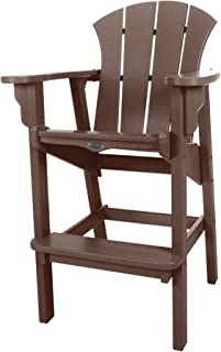 product image for Nags Head Hammocks Sunrise Bar Dining Chair, Chocolate