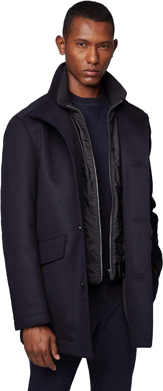 Cashmere Regular Fit Coat Hugo Boss Mens Coxtan 8 Wool