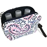 6-bottle Essential Oil Carrying Case (5ml,10ml,15ml) for doTERRA, Young Living Bottles for Aromatherapy Travel or Storage