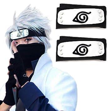 Amazon.com: Atenia Naruto Cosplay Diadema, Naruto Disfraz ...