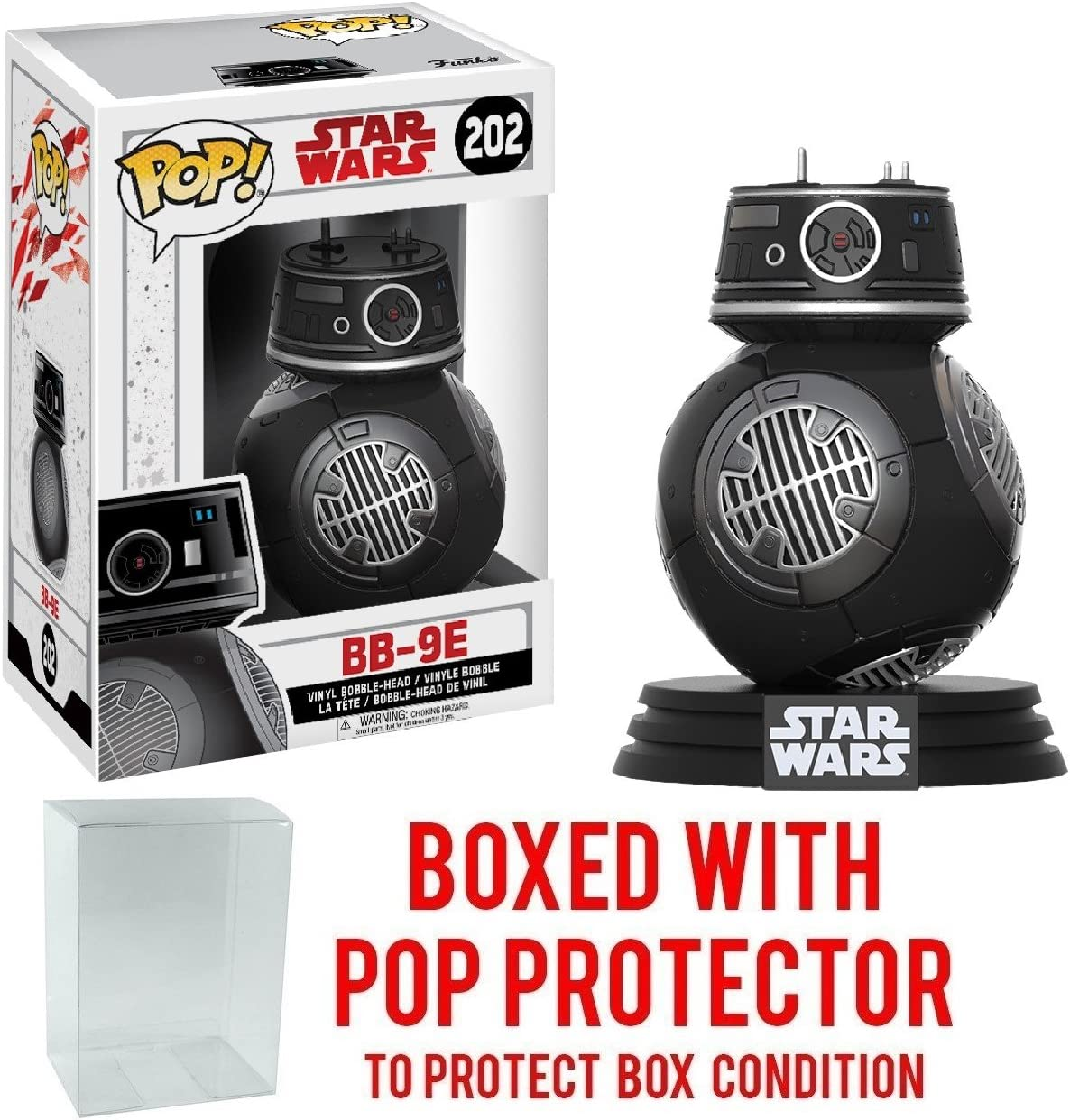 Vinyl--Star Wars Pop BB-9E Episode VIII The Last Jedi Pop Vinyl