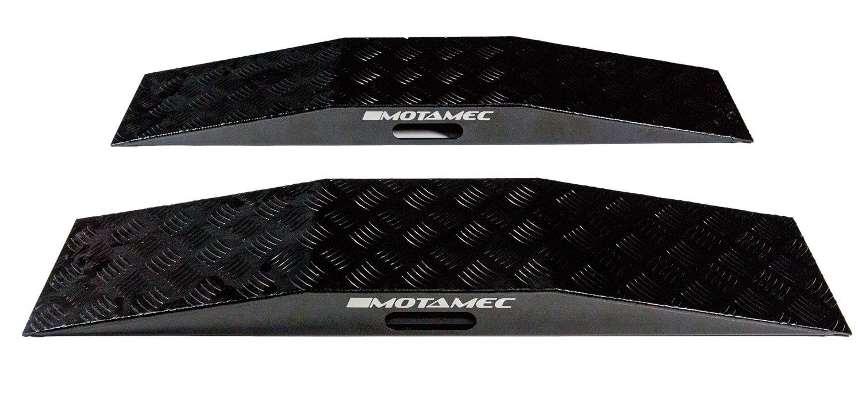 Motamec Alliage WRC disque de roue Rampes en aluminium dentr/ée de gamme basse Rampe anodis/é Noir