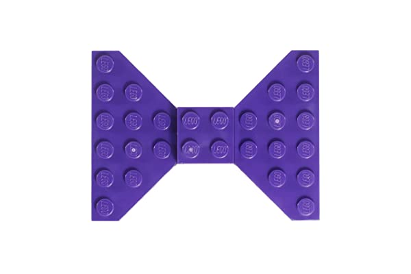 Custom Purple LEGO Hair Bow/Clip