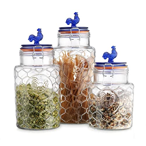 Rooster Country Canister Sets For Kitchen: Amazon.com
