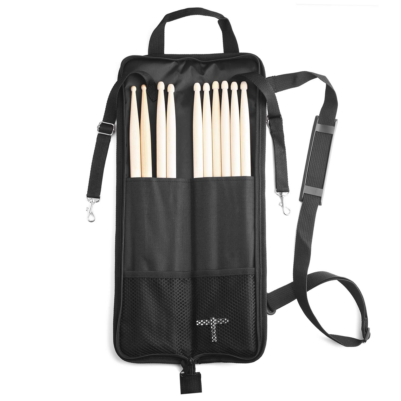 Bolsa para baquetas, con llave de batería (negro): Amazon.es ...