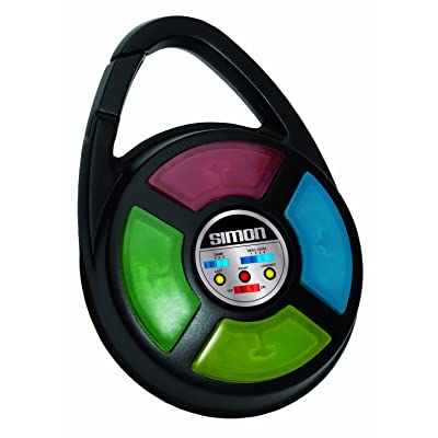 Simon Electronic Carabiner Hand Held Game: Toys & Games