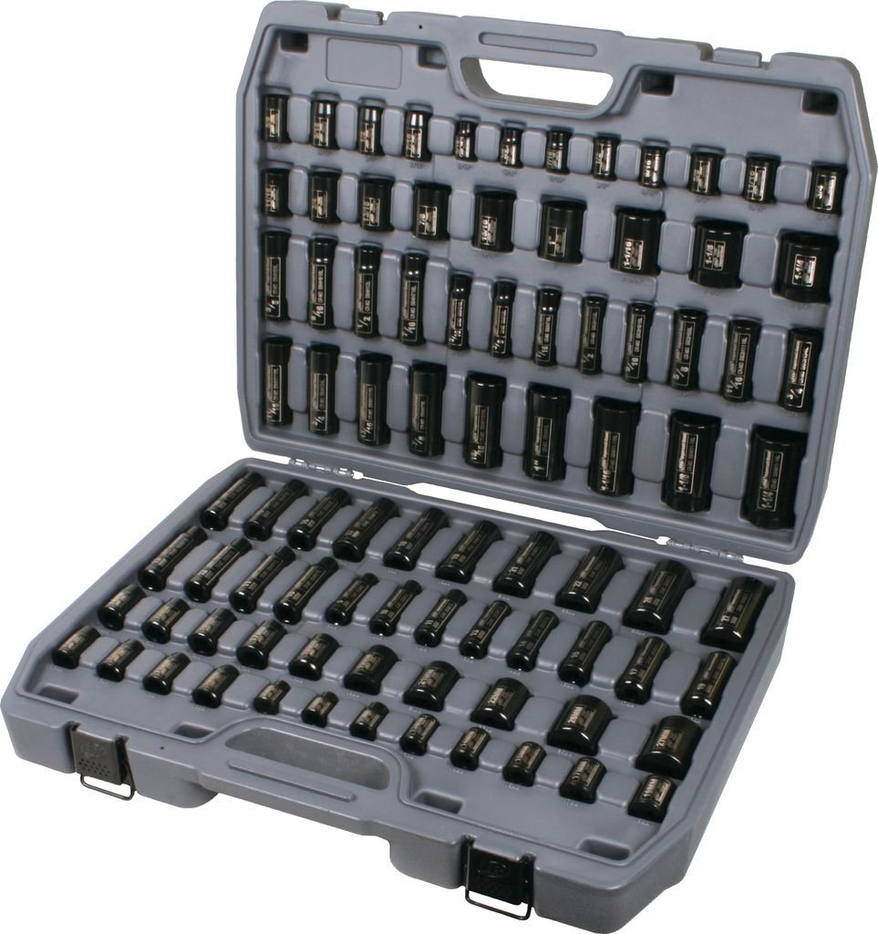 Ingersoll Rand SK34C86N Mega Socket Set (86 Piece)