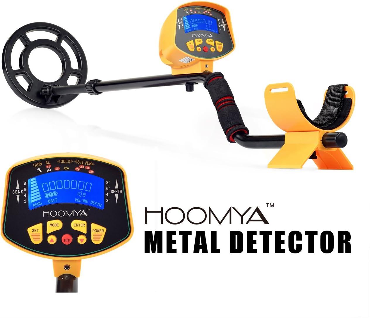 HOOMYA Detector de Metales de Alta Sensibilidad MD-3010II: Amazon ...