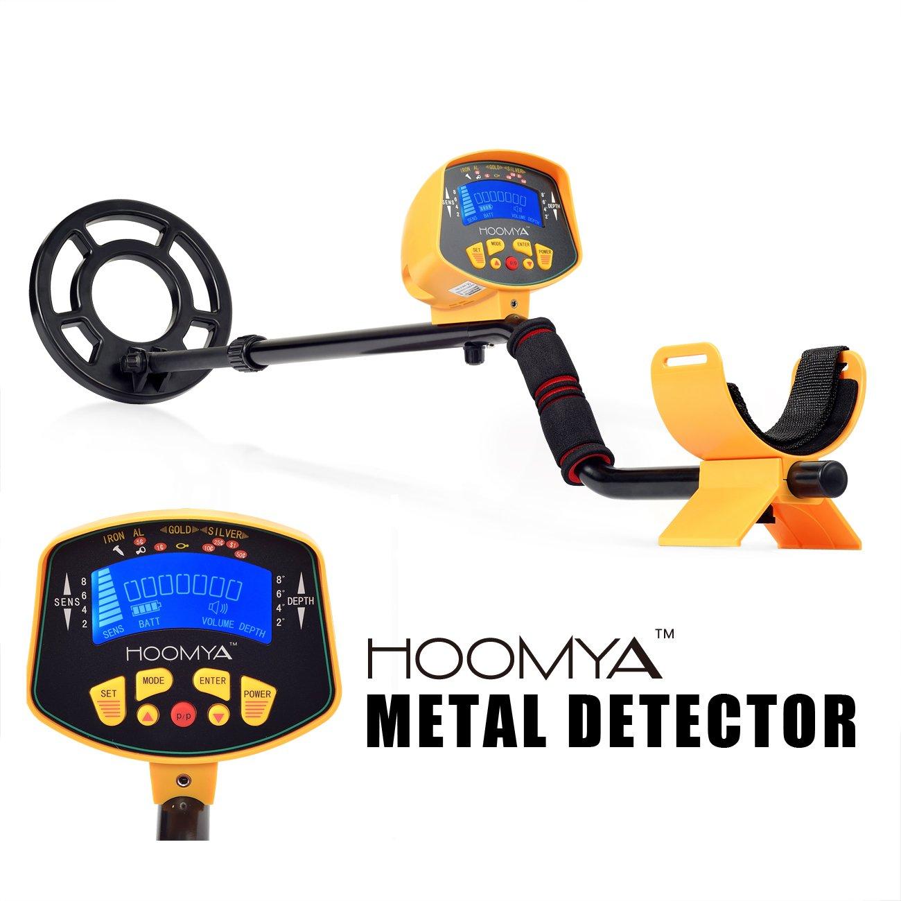 HOOMYA Detector de Metales de Alta Sensibilidad MD-3010II: Amazon.es: Electrónica