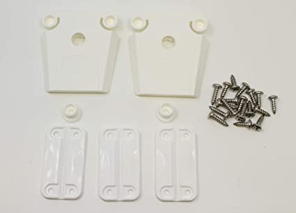AFTERMARKET Igloo Cooler Plastic Hinges 4-PK and 16 Stainless Screw