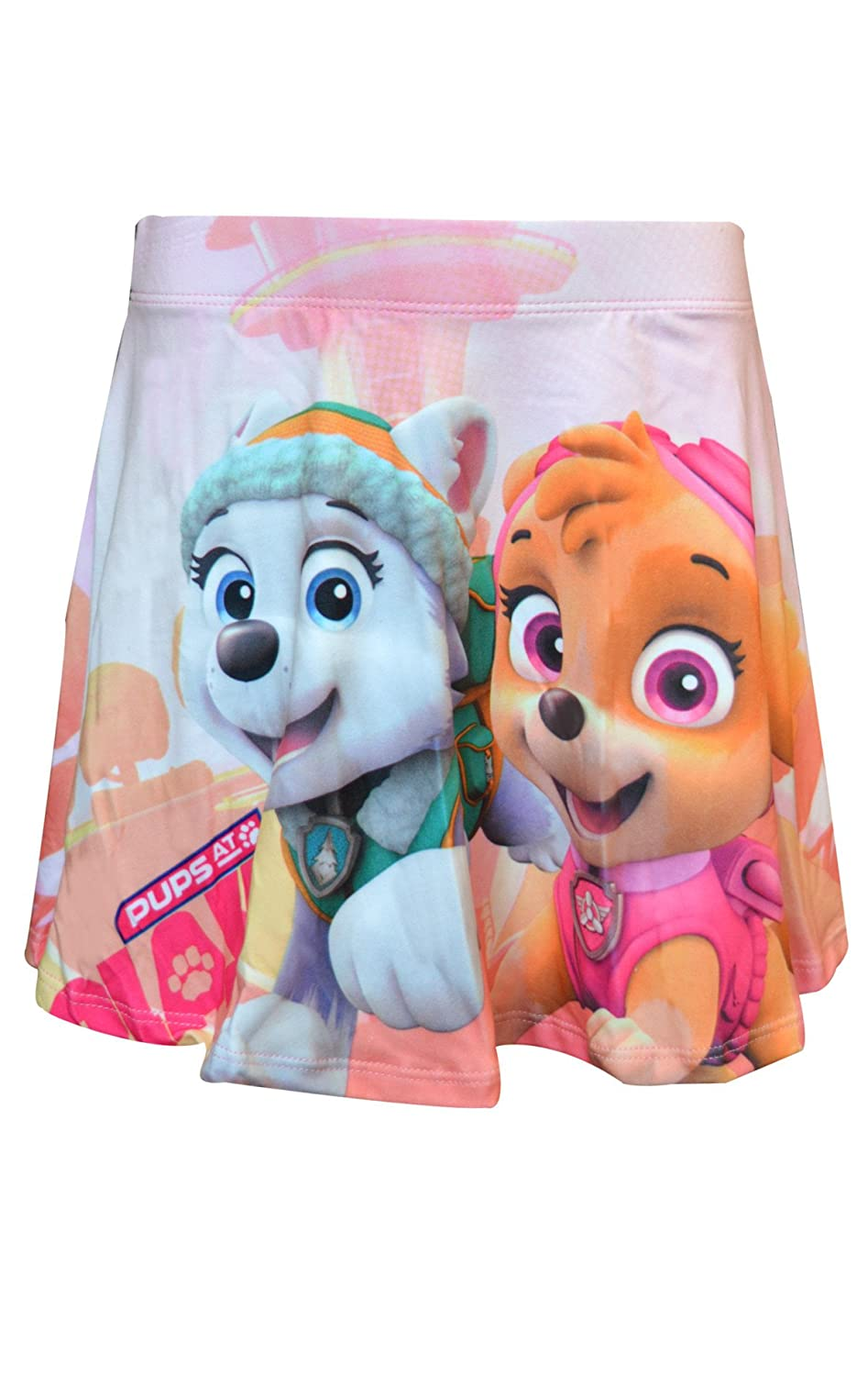 Girls Official Frozen Paw Patrol Overall Printed Skirt Age 2 to 8 Years