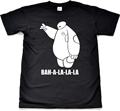 Amazon.com: Teamzad BAH-A-LA-LA-LA Funny Novelty T Shirt: Clothing