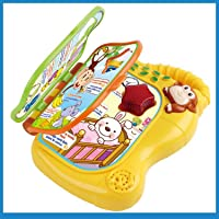 Kiddale Music Keyboard Ferris Wheel Toy Musical Piano with Lights Toy-Multicolor