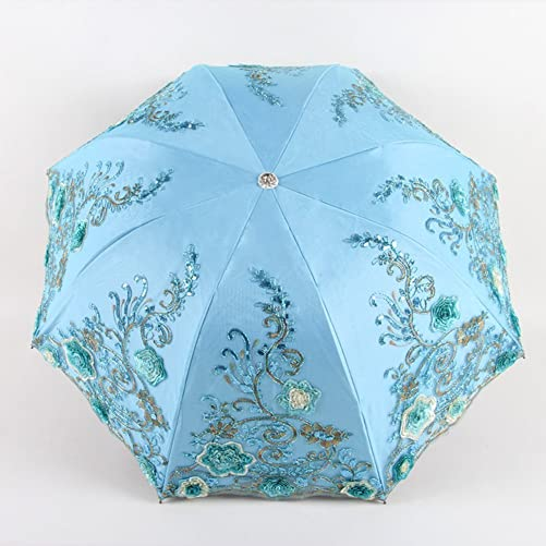 Honeystore Sun Protection Vintage Lace Parasol Decorative Umbrella