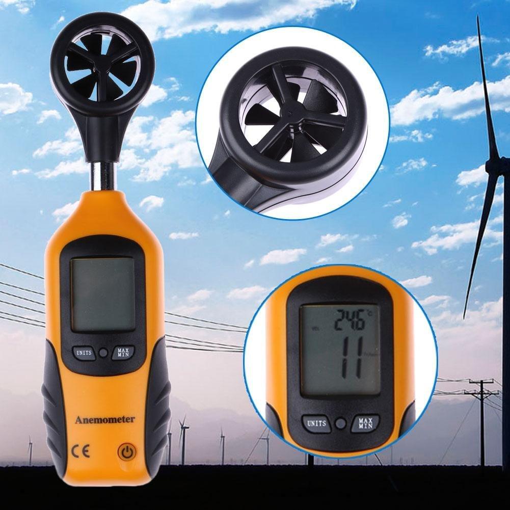 Mini Anemometer  HT-81 Operating Temperature 0 º C to 50 º C 32 º F to 122 º F