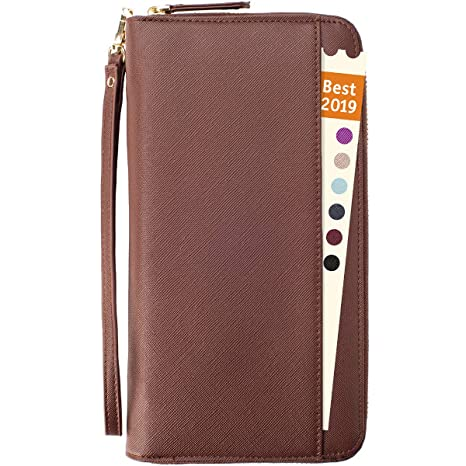 1c485b532099 Amazon.com | Travel Document Organizer - RFID Passport Wallet Case ...