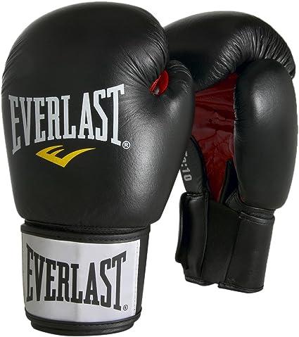 Everlast 6000PUBK10OZ - Guantes de Boxeo, Color Negro, Talla 10oz: Amazon.es: Deportes y aire libre
