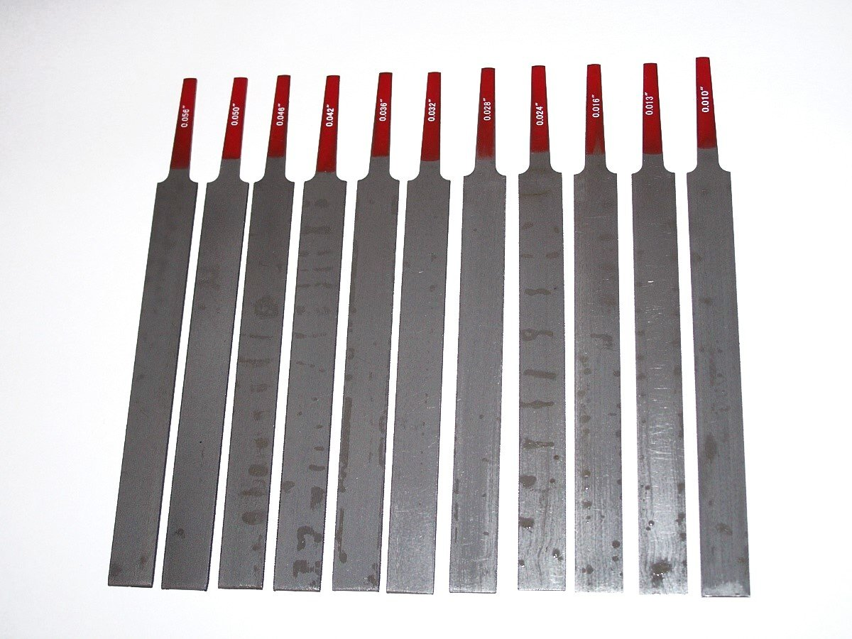 Hosco11 Nut File Set, for Sting Grooves multiple String instruments NF11 VWWS Ships From USA