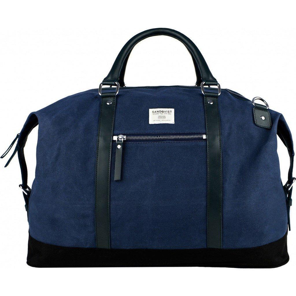 Sandqvist Jordan Weekend Bag - Waxed Blue