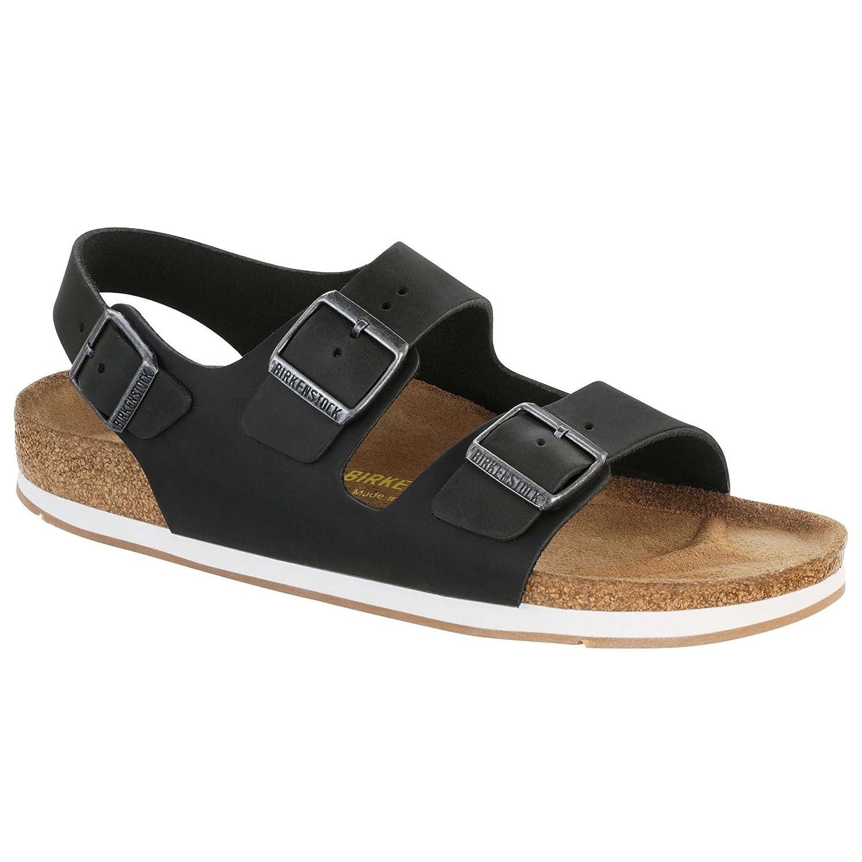 Birkenstock - Sandalias de vestir de Piel para hombre 42 EU|negro