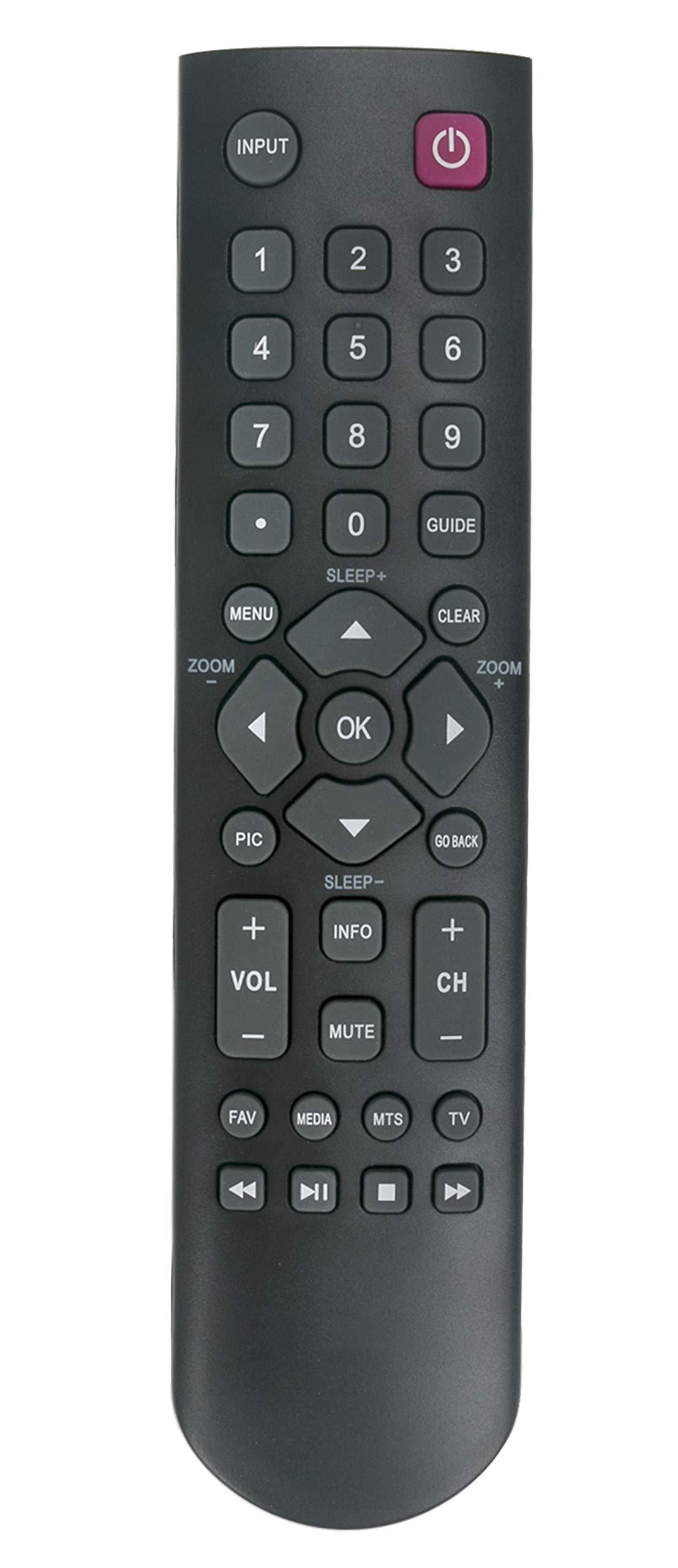 Control Remoto Tcl Led Hdtv 40fd2700 48fd2700 23f3300 28d...