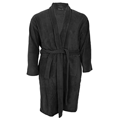 Kings Club Mens Big Size Fleece Dressing Gown Bath Robe 3xl 4xl 5xl