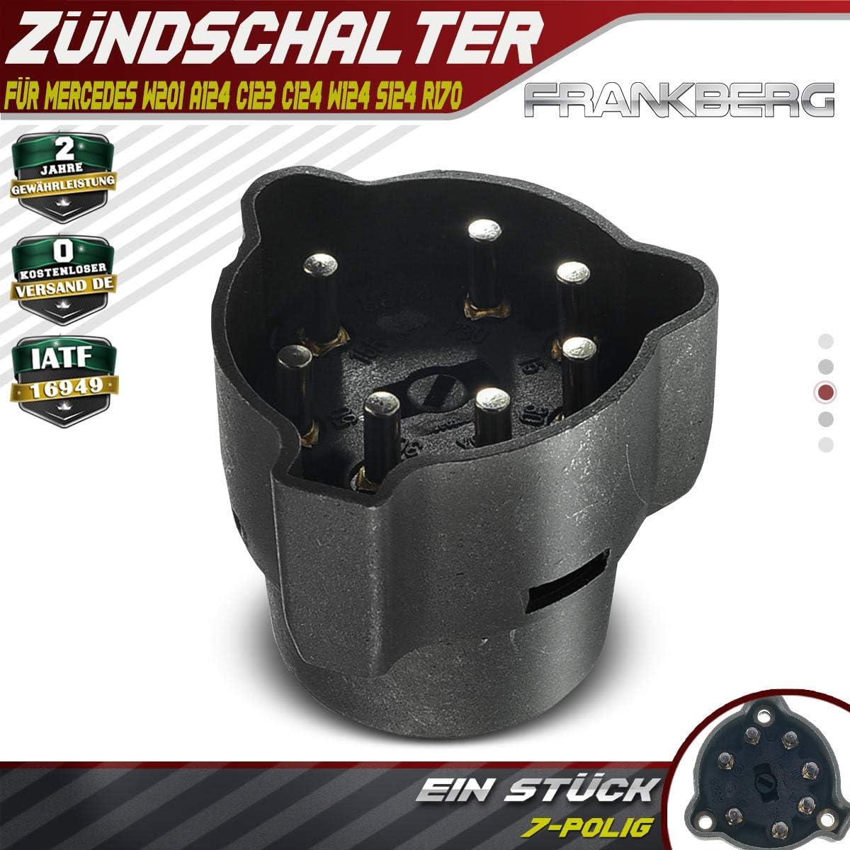 Z/ünd-//Startschalter Z/ündschalter f/ür W201 A124 C123 C124 W124 S124 R170 1976-2001 1244620093