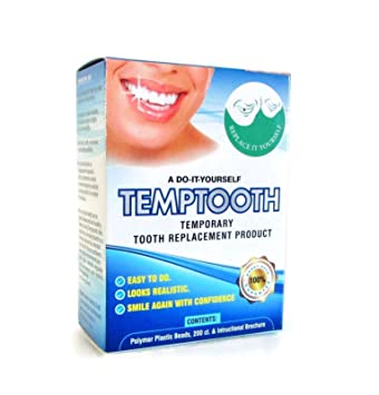 Amazon temptooth 1 seller trusted patented temporary tooth temptooth 1 seller trusted patented temporary tooth replacement product with free dental tools solutioingenieria Image collections