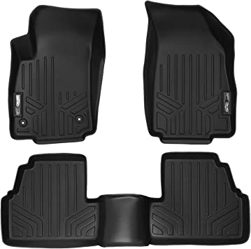 Amazon Com Maxliner Floor Mats 2 Row Liner Set Black For 2013