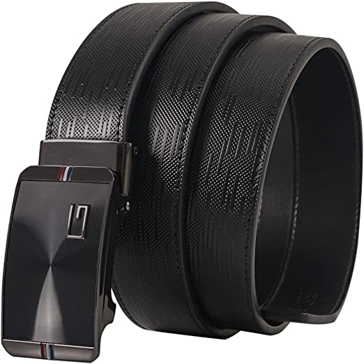 Fashion Men/'s Belt DiBanGu New Luxyry Genuine Leather Only Belts No Buckles